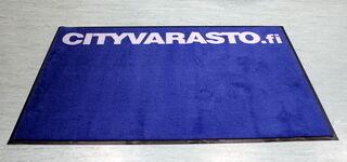 Logomatto Cityvarasto