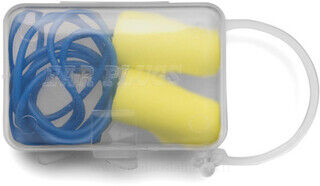 Ear plugs in a muovi case