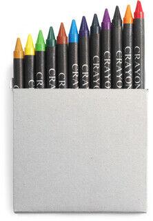 Crayon setti in card box, 12kpl