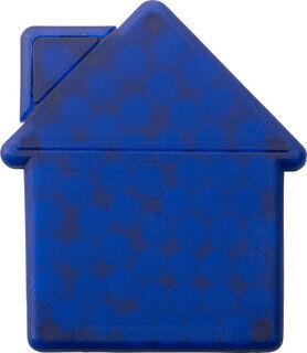 House shaped mint card.