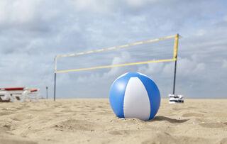 Beach ball, 35cms deflated