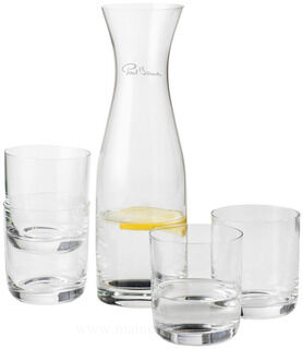 Prestige carafe with 4 glasses