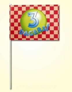 Käsi lippu  20x30cm