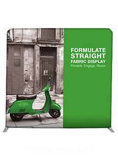 Straight Fabric Display 3m